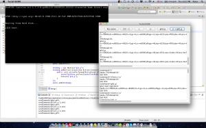 running JLibGDB testing program