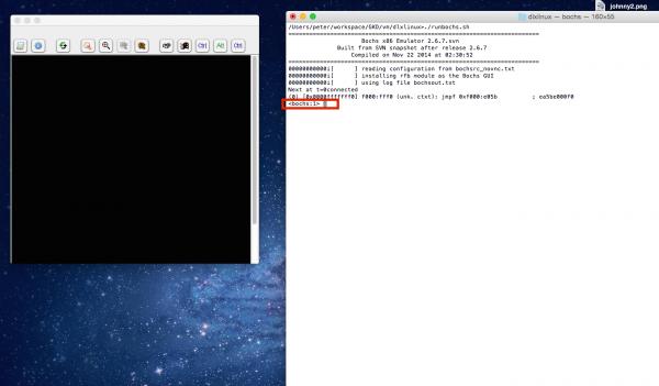 bochs parse error 1